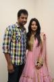 Aryan Rajesh, Mounika Singh @ Pakado Pakado Movie Logo Launch Photos