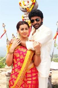 Nikki Galrani, Vikram Prabhu in Pakka Movie New Pics HD