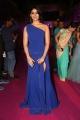 Actress Palak Lalwani Images in Blue Long Dress @ Apsara Awards 2018