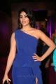 Actress Palak Lalwani Blue Long Dress Images