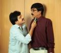 Vivek, Manobala in Palakkattu Madhavan Movie Stills