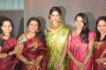 Poornima, Parvathy, Ramya at Palam Silkine Fashion Show 2012 Photos
