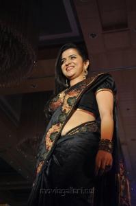 Divyadarshini walks ramp at Sri Palam Silkline'13 Fashion Show