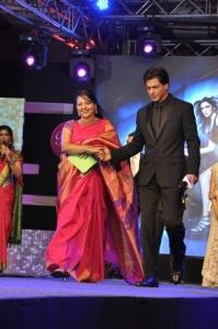 Shahrukh Khan @ Happy New Year Movie Palam Silks 15 Fashion Show Photos