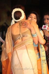 Deepika Padukone @ Palam Silks Chennai Express Meena Hunt Grand Finale Photos