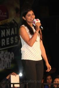 Singer Chinmayi @ Palam Silks Chennai Express Meena Hunt Grand Finale Photos