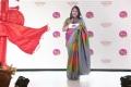 Jeyasree Ravi @ Palam Silks Concert Collections Launch Stills