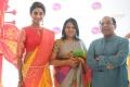 Sahithya Jagannathan, Jeyasree Ravi, Sriram Parasuram @ Palam Silks Concert Collections Launch Stills
