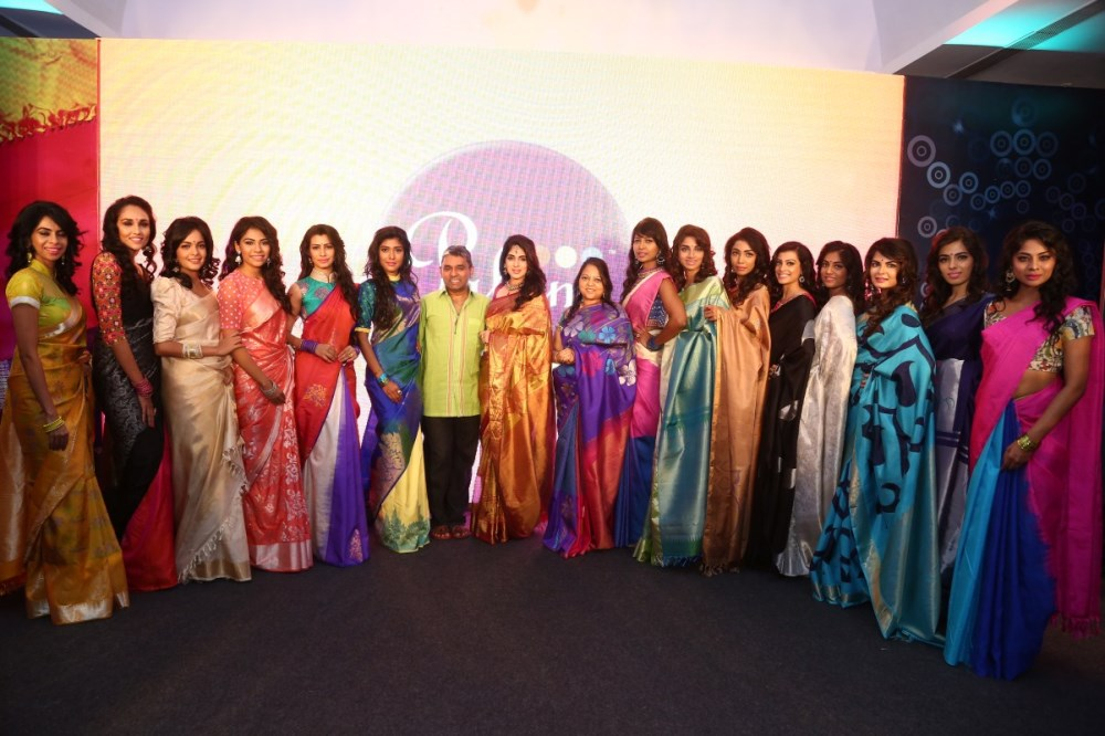 Palam Silks Festive Collections 2015 Fashion Show Stills
