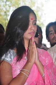 Actress Pallavi Subhash @ Arjun Om Movie Launch Photo Gallery