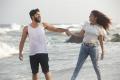 Ashwin Jerome, Sana Altaf in Pancharaaksharam Movie Stills