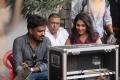 Madhu Shalini in Pancharaaksharam Movie Working Stills