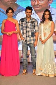 Rakul Preet Singh, Ram, Sonal Chauhan @ Pandaga Chesko Audio Launch Stills