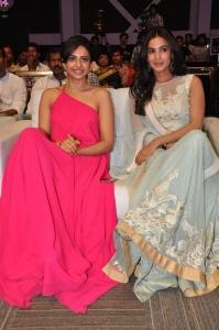 Rakul Preet Singh, Sonal Chauhan @ Pandaga Chesko Movie Audio Launch Stills