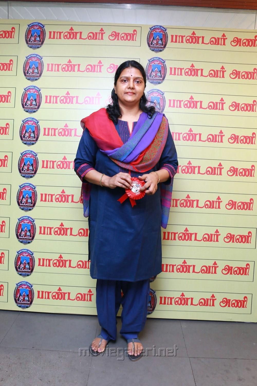 Bhanupriya @ Pandavar Ani Press Meet Stills