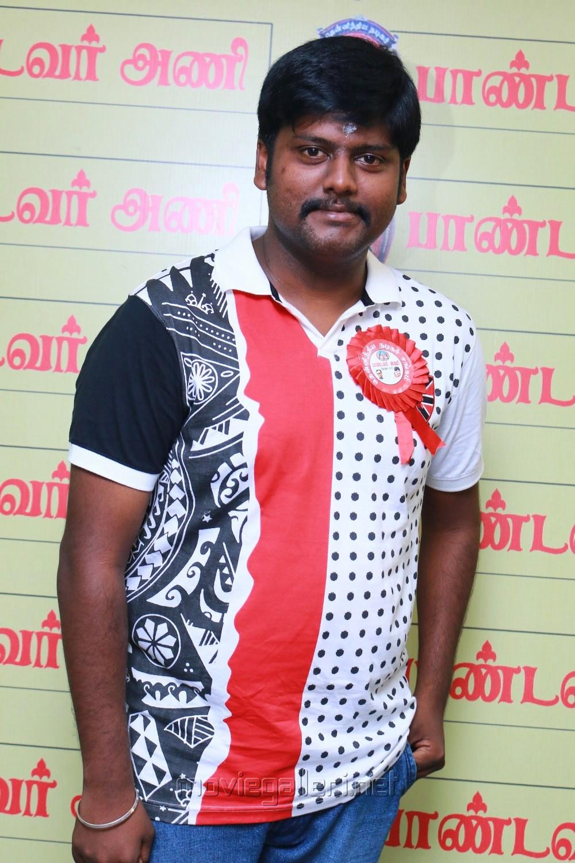 Ashvin Raja @ Pandavar Ani Press Meet Stills