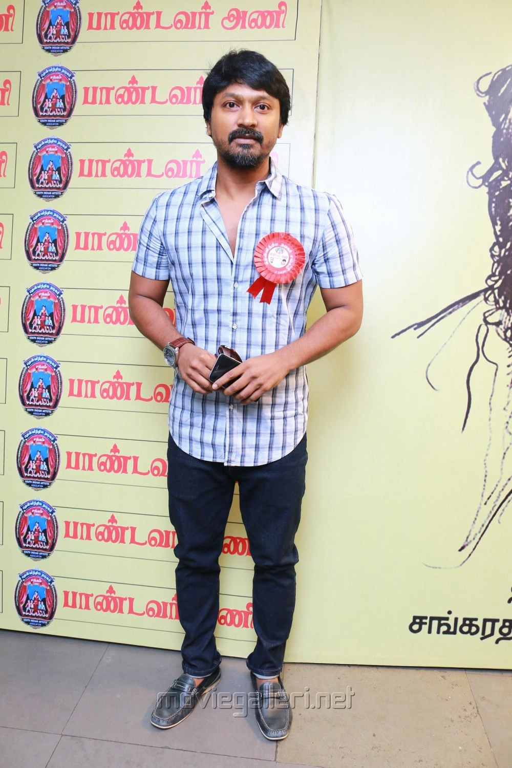 Kreshna @ Pandavar Ani Press Meet Stills