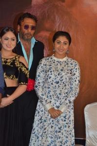 ACTRESS Meghali @ Pandimuni Movie Press Meet Stills