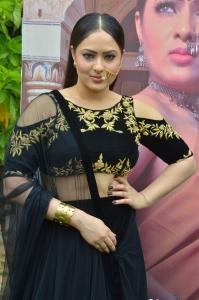 Actress Nikesha Patel @ Pandimuni Movie Press Meet Stills