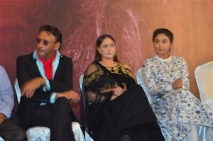 Jackie Sherof, Nikesha Patel, Meghali @ Pandimuni Movie Press Meet Stills