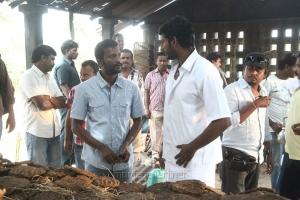 Suseenthiran, Vishal @ Pandiya Nadu Movie On Location Photos