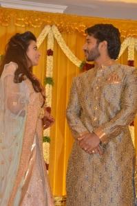 Actor Pandu Son Pintu Wedding Reception Stills