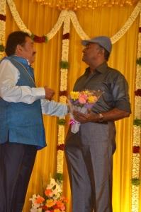 MS Baskar @ Actor Pandu Son Pintu Wedding Reception Stills