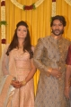 Actor Pandu Son Pintu Spathika Wedding Reception Stills