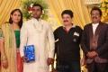 SV Sekar at Actor Pandu Son Wedding Reception Photos