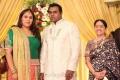 Sachu at Actor Pandu Son Wedding Reception Photos