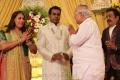 Nalli Kuppuswami Chetti at Pandu Son Wedding Reception Photos