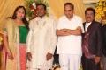 AVM Saravanan at Pandu Son Wedding Reception Photos