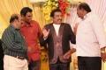 Nellai Siva at Pandu Son Wedding Reception Photos