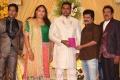 Pandiarajan at Pandu Son Wedding Reception Photos