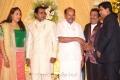 PMK Dr.Ramadoss at Pandu Son Wedding Reception Photos