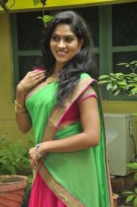 Actress Swashika @ Panduvam Movie Team Interview Stills