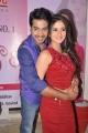 Surya Teja, Harshika Poonacha @ Pani Puri Movie Press Meet Stills