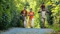 Sanyathara, Varsha Ashwathi in Panivizhum Malarvanam Movie Stills