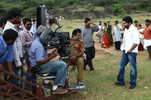 Panja Movie Working Stills