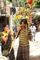 Nikhila Vimal, Ma Ka Pa Anand in Panjumittai Movie Stills