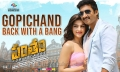 Mehreen Pirzada, Gopichand in Pantham Movie New Posters