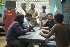 Delhi Ganesh, Kamal, Sree Ram in Papanasam Movie Stills