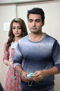 Trisha, Nandha in Paramapadham Vilayattu Movie Stills HD