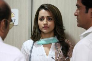 Actress Trisha in Paramapadham Vilayattu Movie Stills HD