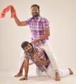 Sarathy, Kanja Karuppu in Paranjothi Tamil Movie Stills