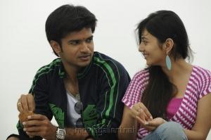 Vamsi Krishna & Ruchika Babbar in Parents Telugu Movie Images
