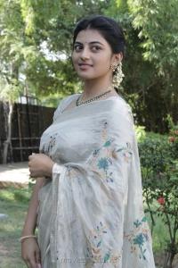 Actress Anandhi @ Pariyerum Perumal Press Meet Stills