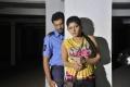 Raja, Shona Chabra in Parking Telugu Movie Stills