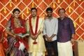 Parthiban daSoori, Vasu Vikram @ ughter Abhinaya Wedding Reception Stills