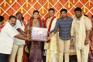 Parthiban daughter Abhinaya Wedding Reception Stills